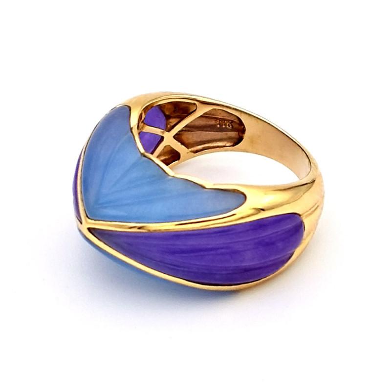 Δαχτυλίδι με Jade σε χρυσό Κ14 - G307929