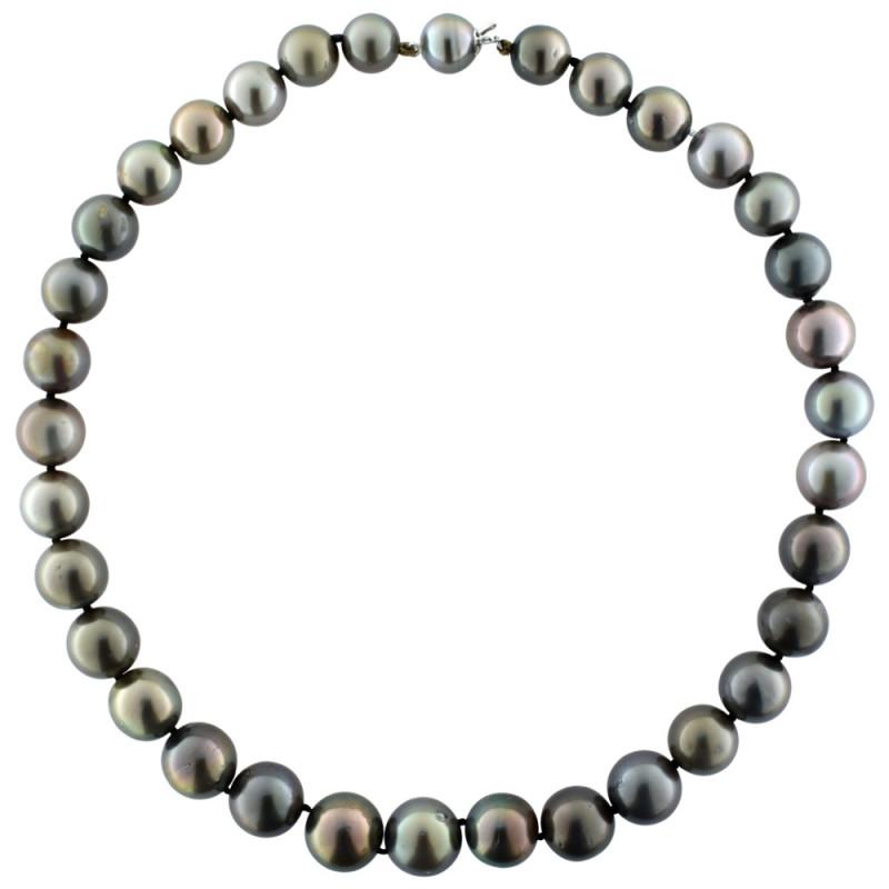 Κολιέ με μαργαριτάρια South Sea Tahiti 10,1-13,6mm - M101364
