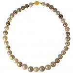 Κολιέ με μαργαριτάρια South Sea 9,4-12,3mm και χρυσό κούμπωμα K18 - M101376