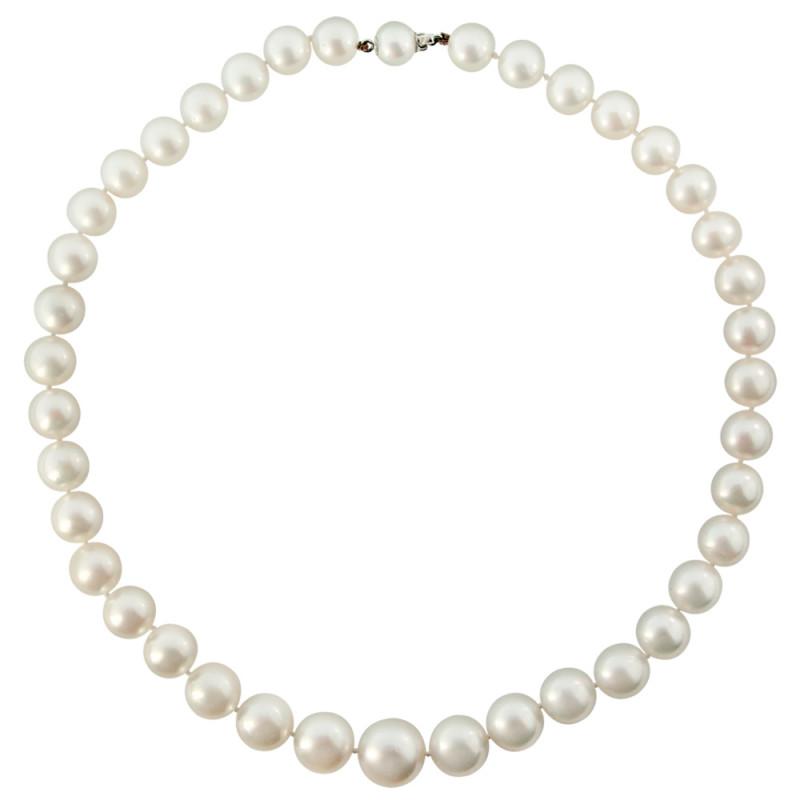 Κολιέ με λευκά μαργαριτάρια South Sea Australia - M118978