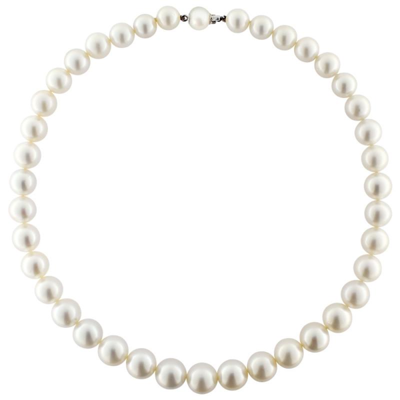 Κολιέ με λευκά μαργαριτάρια South Sea Australia - M120194