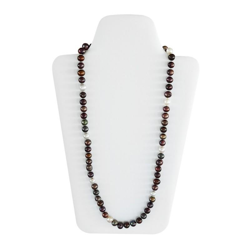 Κολιέ με πολύχρωμα μαργαριτάρια Fresh Water Pearl - M121271