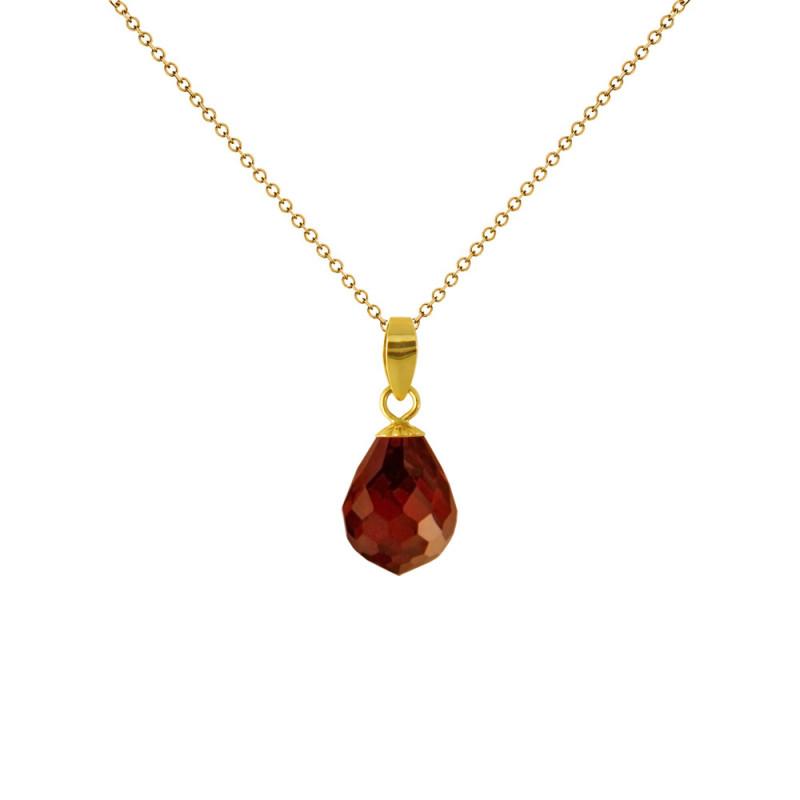 Μενταγιόν με Γρανάδα σε χρυσή βάση Κ18 - M120787G