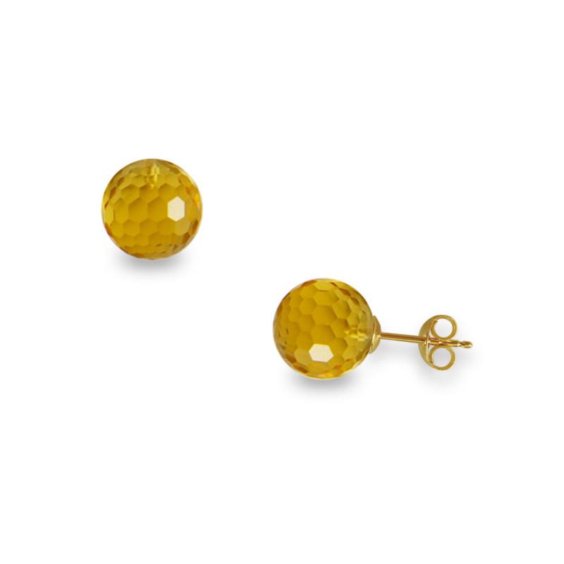 Σκουλαρίκια με Citrine - G318635C