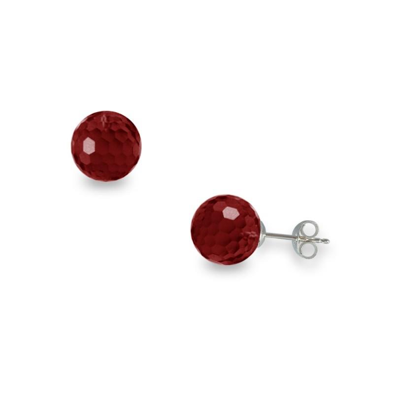 Σκουλαρίκια με Garnet - W318635G