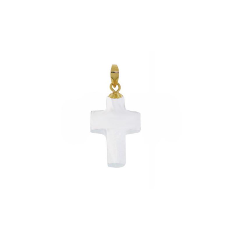 Σταυρός-Μ118526-18Κ Χρυσός Cross Faset