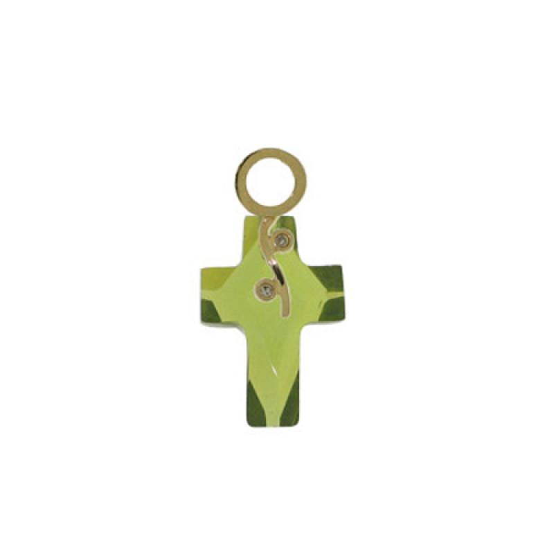 Σταυρός-Μ118528-18Κ Χρυσός Cross Faset και Διαμάντια